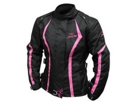 Rjays Opal III Black Pink White Ladies Jacket