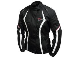 Rjays Opal III Black White Red Ladies Jacket