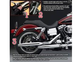 National Cycle Peacemaker Exhaust for Harley Davidson