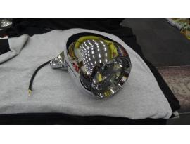 "Cossie Tri-Bar Headlight 5-3/4"" Eyeball Style"