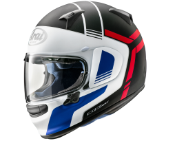 Arai Profile-V Tube Matte Black White Red Helmet