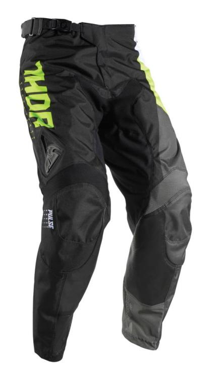 Thor 2017 Pulse Aktiv Lime Black Pants