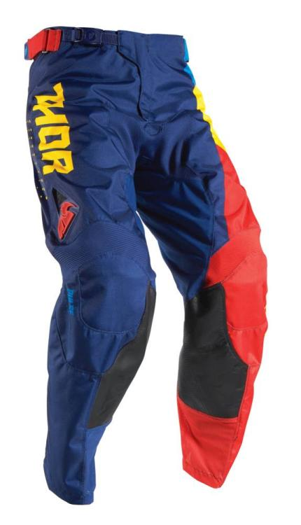 Thor 2017 Pulse Aktiv Blue Red Yellow Pants