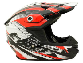 THH Youth TX-15 Race Black Red Helmet