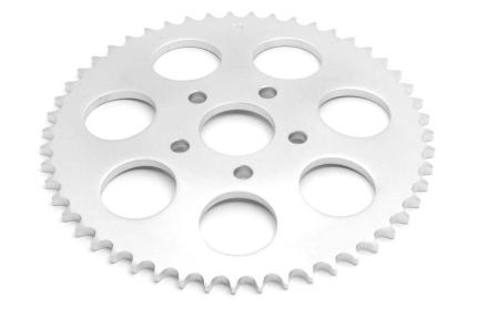 Zodiac Sprocket 49T XL96-91 Flat - Chrome