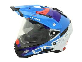 Oneal Sierra Edge White Red Blue Helmet