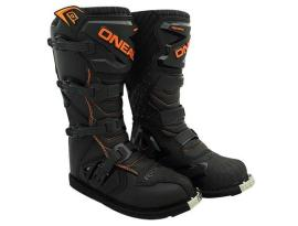 Oneal 2017 Rider Black Orange Boots- Adult