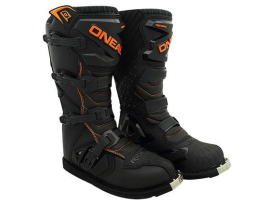 Oneal 2018 Youth Rider Black Orange Boots