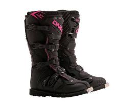 Oneal 2017 Rider Black Pink Boots- Adult