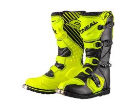Oneal 2017 Rider Black Yellow Boots- Adult