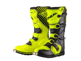 Oneal 2018 Kids Rider Black Yellow Boots