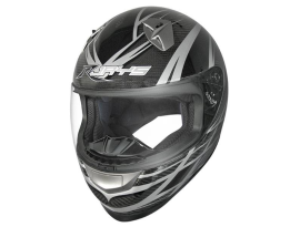 Rjays CFK-1 Black Grey Carbon Fibre Helmet