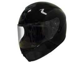 Rjays Dominator II Gloss Black Helmet
