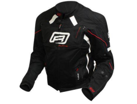 Rjays Octane III Ladies Black White Red Jacket