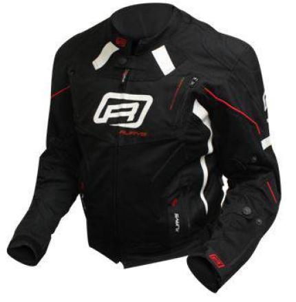 Rjays Octane III Black White Red Jacket