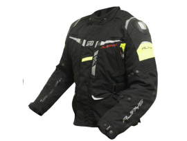 Rjays Pilot Black Hi Vision Jacket
