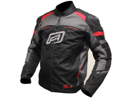 Rjays Stinger 2 Black Grey Red Jacket
