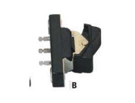 Zodiac Rocker Switch Plain 1972-1981