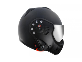 Roof Boxer V8 Black Helmet