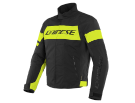 Dainese Saetta Black and Yellow D-Dry Jacket