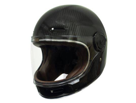 Scorpion Vintage Gloss Carbon Helmet