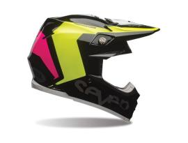 Bell Moto 9 Flex Seven Rogue Black Fluro Yellow Helmet 2017