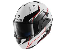 Shark Evo-One Krono White Black Red Helmet