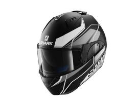 Shark Evo-One Krono Black Silver White Helmet