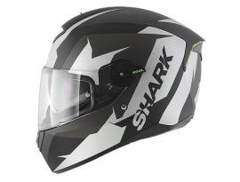 Shark Skwal Sticking Mat Black White Helmet