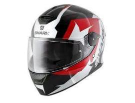 Shark Skwal Sticking Mat Black Red White Helmet