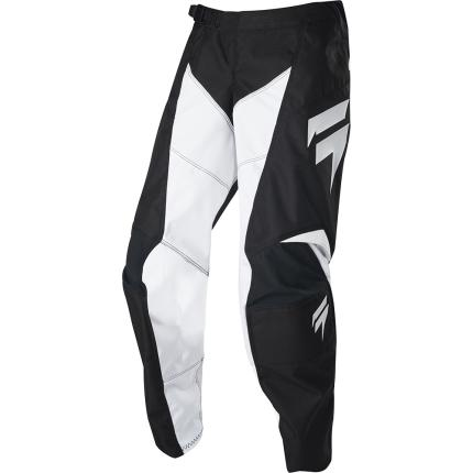 Shift 2020 Youth Whit3 Label Race Black and White Pants