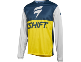 Shift 2019 Whit3 Label Limited Edition Navy Yellow Jersey