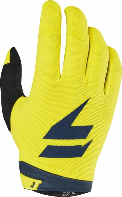 Shift 2019 Whit3 Label Yellow Navy Air Gloves
