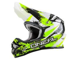 Oneal 3 Series Shocker Black Yellow Helmet 2018 - Youth