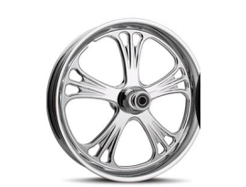 Sinister Deluxe 17x6.25 FXST 08-12 Chrome Rear Wheel