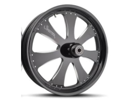 Sinister Passion 17x6.25 FXST 08-12 Black Rear Wheel