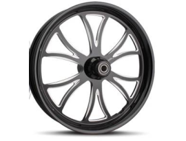 Sinister Prime 17x6.25 FXST 08-12 Black Rear Wheel