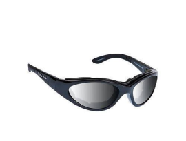 Ugly Fish Slim Goggles - Gloss Black Smoke