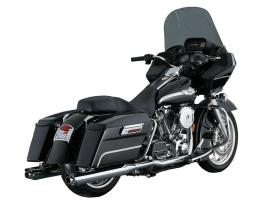 Vance and Hines TWIN SLASH OVAL Slip-On Mufflers for Touring Models