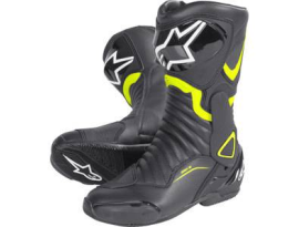 Alpinestars SMX 6 V2 Fluro Yellow Black Boots