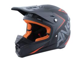 Answer SNX 2 Charcoal/Black/Silver Helmet 2017 - Adult