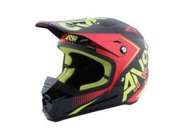 Answer SNX 2 Red/Black/Acid Helmet 2017 - Adult