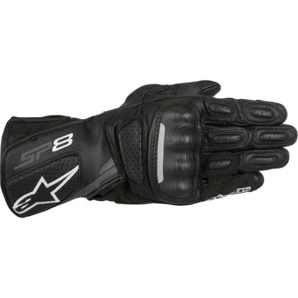 Alpinestars SP8 V2 Gloves Black/Grey