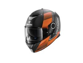 Shark Spartan Arguan Orange Helmet