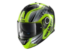Shark Spartan Karken Yellow Black Helmet