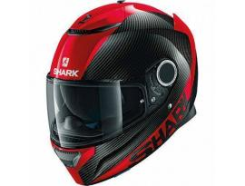 Shark Spartan Carbon Skin Red Helmet