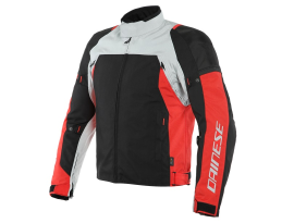 Dainese Speedmaster Glacie Grey Red and Black D-Dry Jacket