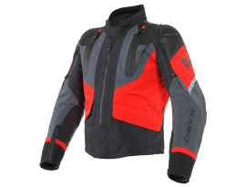 Dainese Sport Master Black Red and Ebony Gore-Tex Jacket