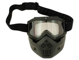 Scorpion Stealth Goggles with Mask