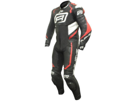 Rjays Stealth 3 Black Red Grey 1 piece suit